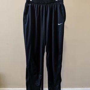 Nike Dri-Fit Black tapered soccer joggers